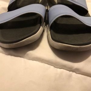 Nike Shoes - Nike sandals light blue